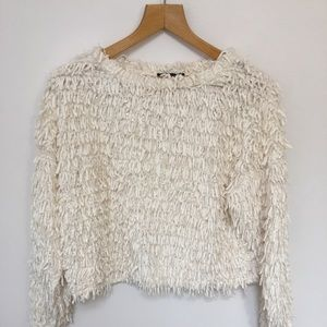 Zara Fringe Top